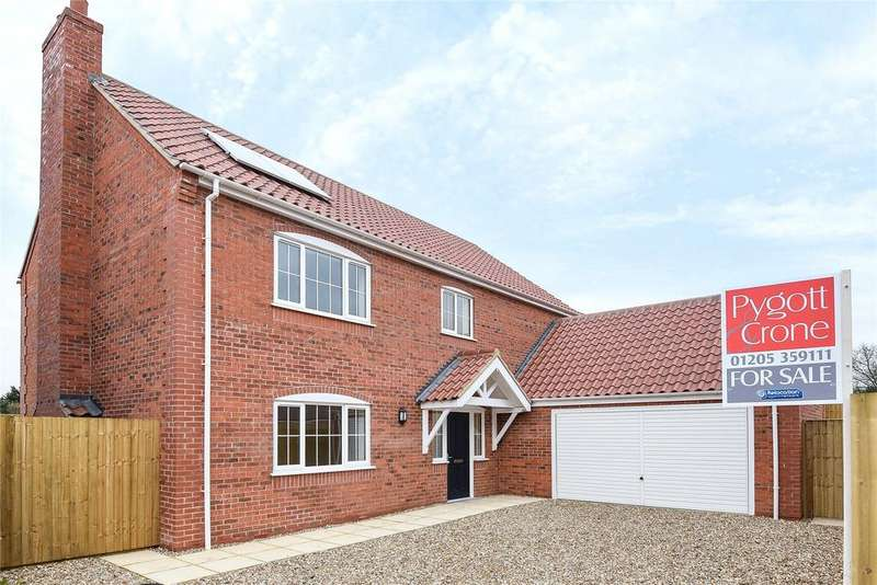 4 Bedrooms Detached House for sale in Tower Gardens, Sutterton, PE20