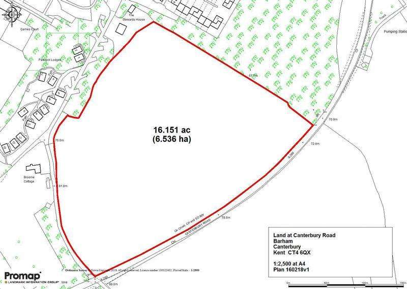 Land Commercial for sale in Land at Broome Park, Barham, Canterbury, Kent CT4 6QX
