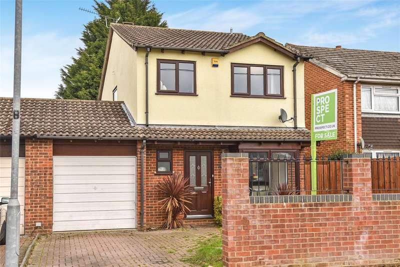 3 Bedrooms Link Detached House for sale in Yeovil Road, Owlsmoor, Sandhurst, Berkshire, GU47