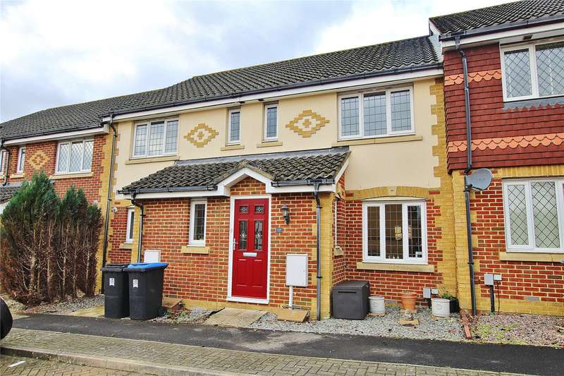 3 Bedrooms Terraced House for sale in Lorne Gardens, Knaphill, Woking, Surrey, GU21