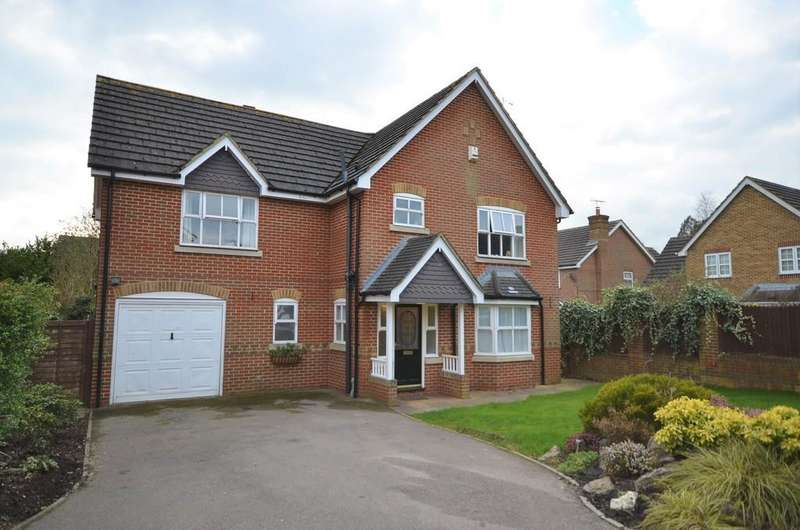 4 Bedrooms Detached House for sale in Ayjay Close, Aldershot