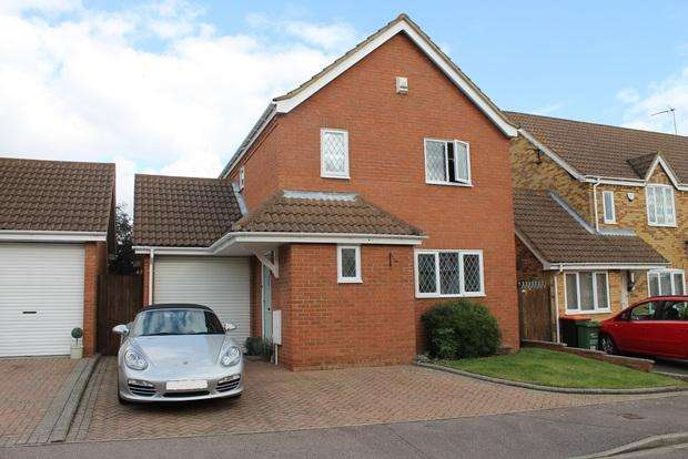 3 Bedrooms Detached House for sale in Wiseman Close, Luton, LU2