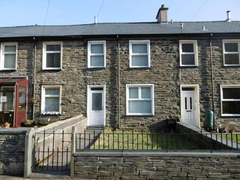 3 Bedrooms Terraced House for sale in Glanypwll, Blaenu Ffestiniog LL41