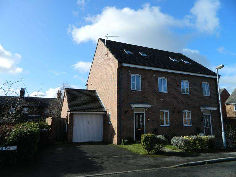 4 Bedrooms Semi Detached House for sale in John Ford Way, Sandbach