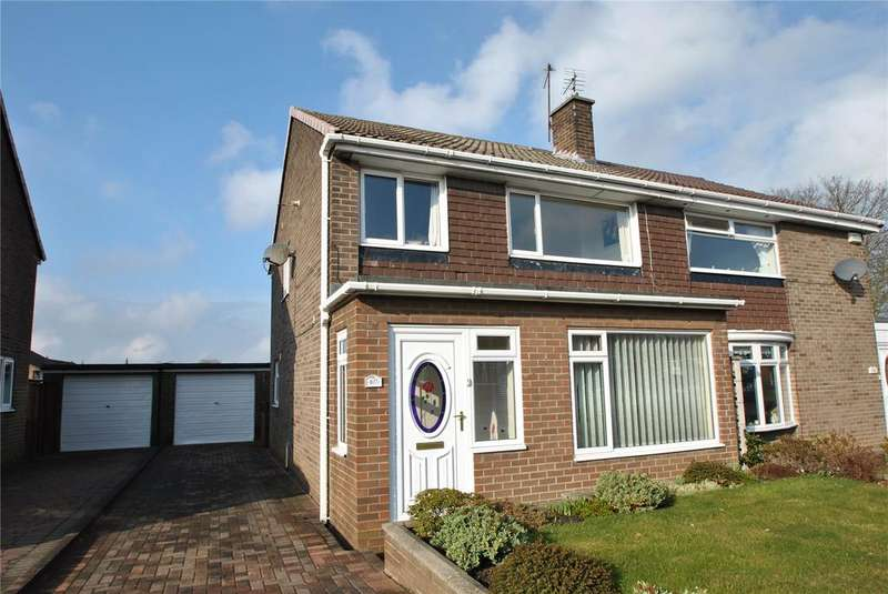 3 Bedrooms Semi Detached House for sale in Ninelands, Dairy Lane, Houghton le Spring, DH4