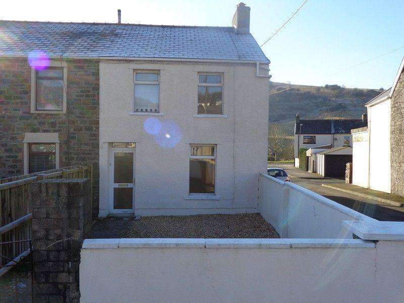 3 Bedrooms End Of Terrace House for rent in Pochin Crescent, Tredegar, Blaenau Gwent.