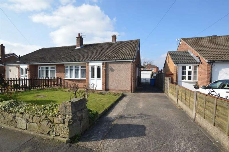 3 Bedrooms Semi Detached Bungalow for sale in Arnesby Avenue, SALE, Cheshire