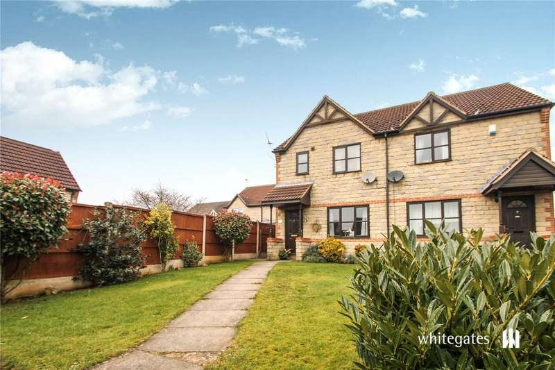 3 Bedrooms Semi Detached House for rent in Tilia Close, Scunthorpe, Lincolnshire, DN16