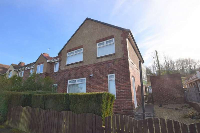 3 Bedrooms End Of Terrace House for sale in Wylam Road, Shield Row, Stanley