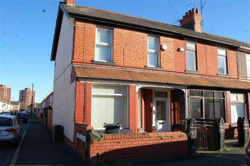 3 Bedrooms End Of Terrace House for sale in Victoria Road, Ellesmere Port