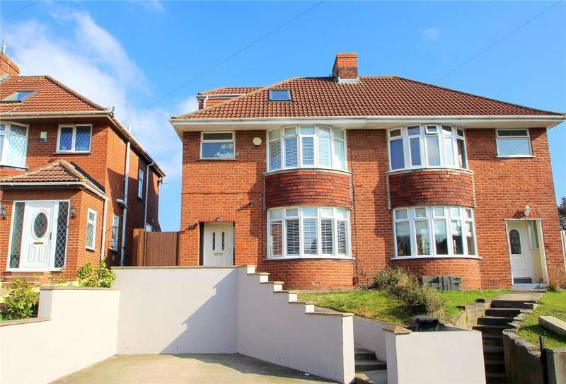 4 Bedrooms Semi Detached House for sale in Queens Road, Bishopsworth, Bristol, BS13