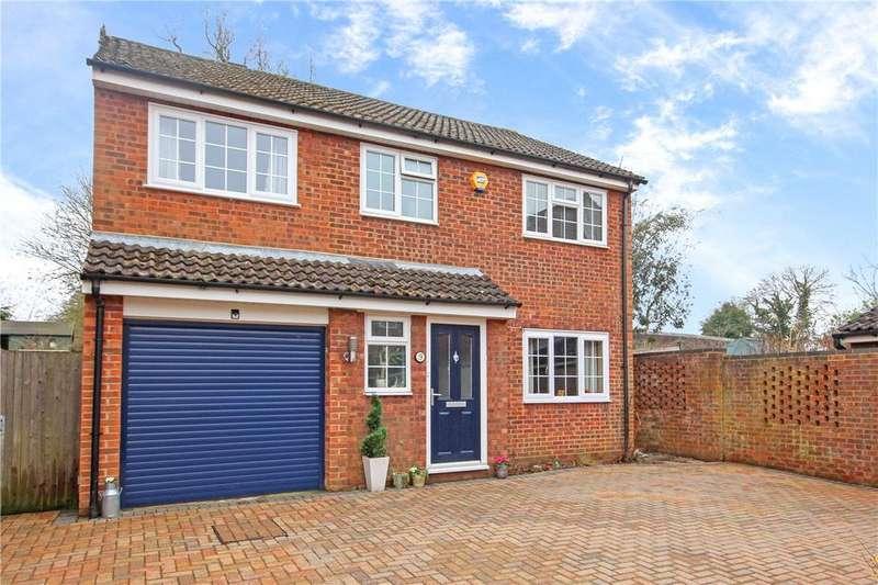 4 Bedrooms Detached House for sale in Wensley Close, Harpenden, Hertfordshire
