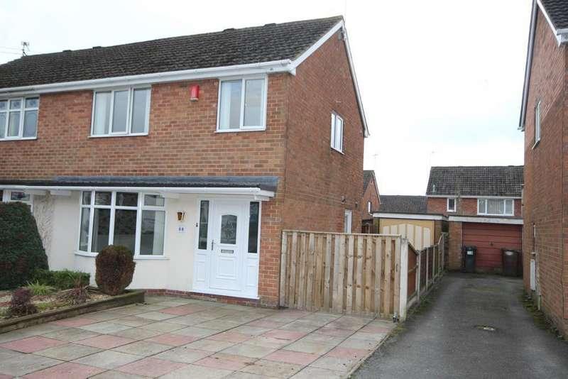 3 Bedrooms Semi Detached House for rent in Elmwood Drive, Blythe Bridge