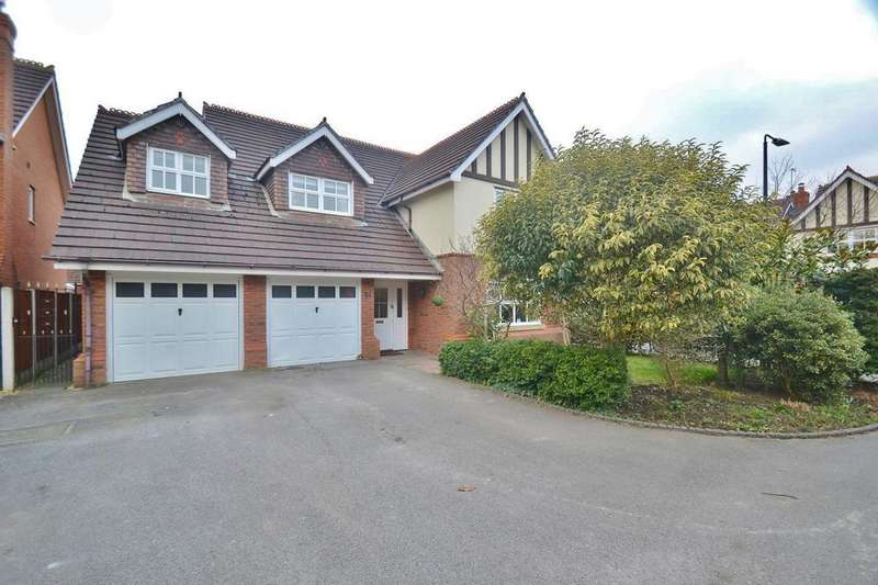 4 Bedrooms Detached House for sale in Gresham Way, Sale