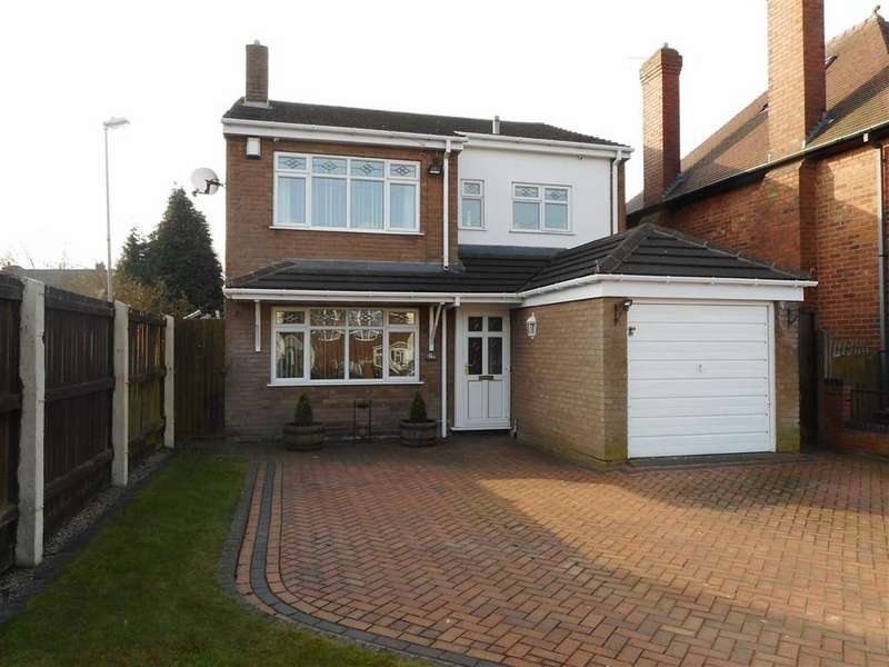 3 Bedrooms Detached House for sale in Victoria Avenue, Bloxwich, Walsall