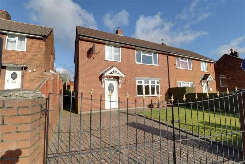3 Bedrooms Semi Detached House for sale in Somerset Avenue, Kidsgrove, Stoke-on-Trent