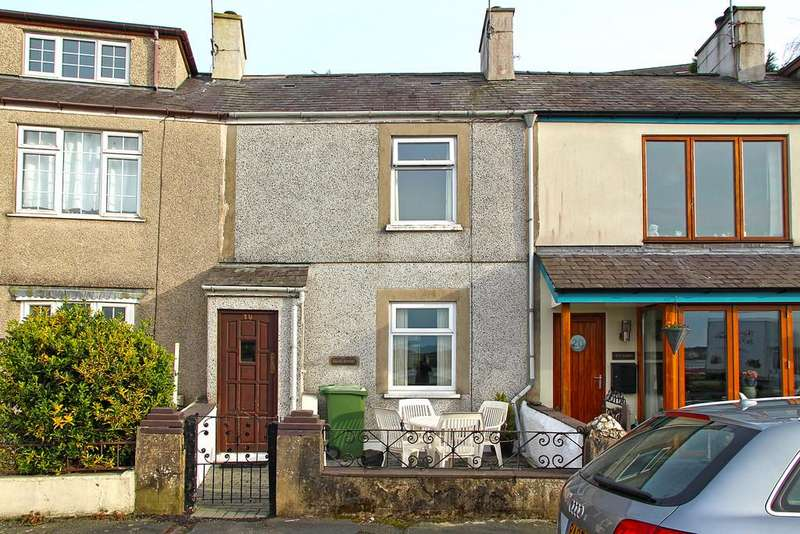 2 Bedrooms Terraced House for sale in Beach Road, Y Felinheli, North Wales