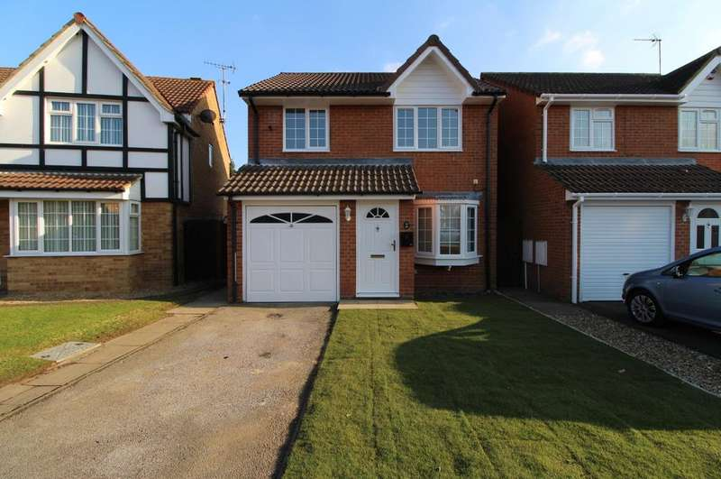 3 Bedrooms Detached House for sale in Sheriden Close, Dunstable