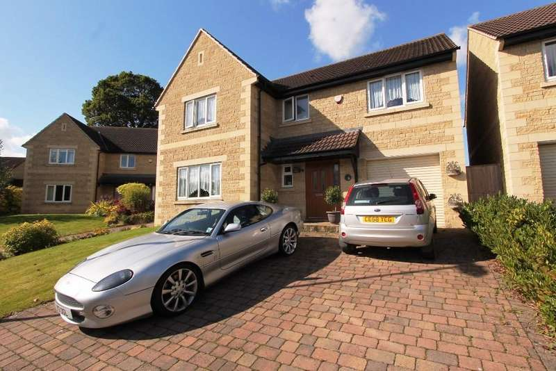 4 Bedrooms Detached House for sale in Claremont Gardens, Hallatrow, Bristol