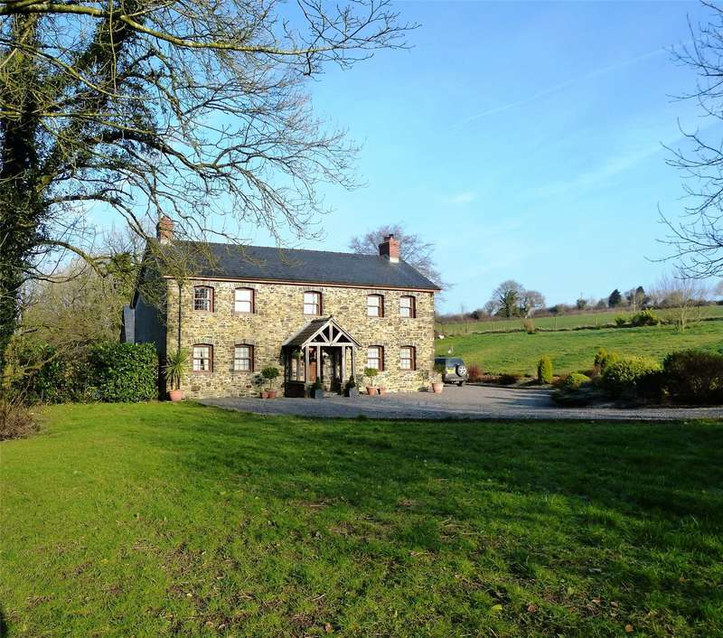 4 Bedrooms Detached House for sale in Old Lan Farmhouse, Login, Whitland, Sir Gaerfyrddin