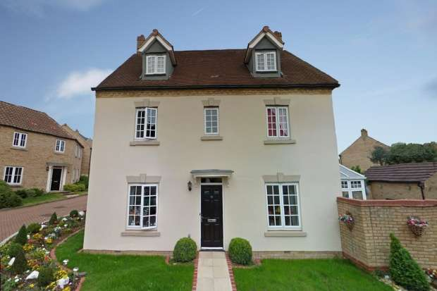 5 Bedrooms Detached House for sale in Sheridan Grove, Milton Keynes, Buckinghamshire, MK4 4GP