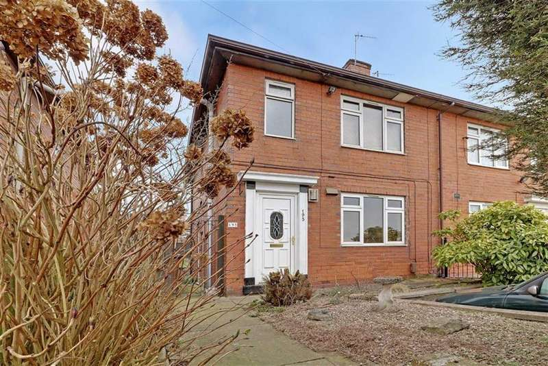 3 Bedrooms Semi Detached House for sale in Abbey Road, Abbey Hulton, Stoke-on-Trent