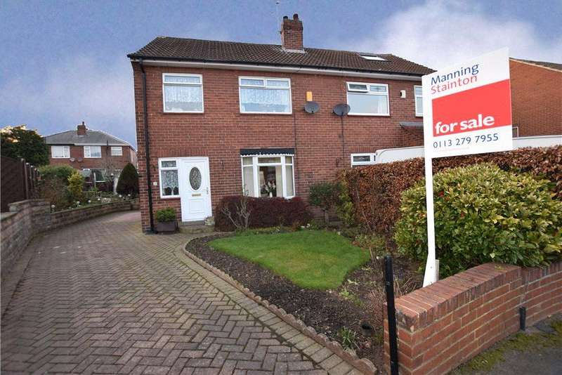 3 Bedrooms Semi Detached House for sale in Kirkdale Gardens, Leeds, West Yorkshire
