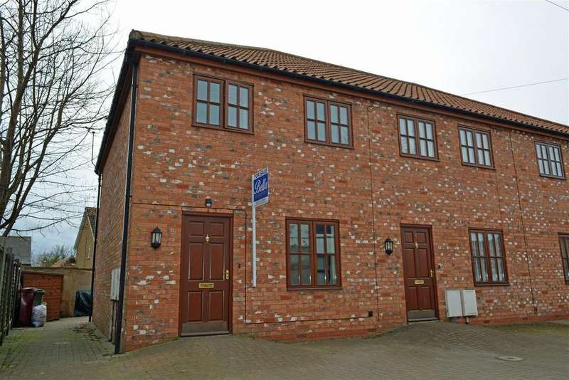 3 Bedrooms End Of Terrace House for sale in Chancery Lane, Crowle, Scunthorpe