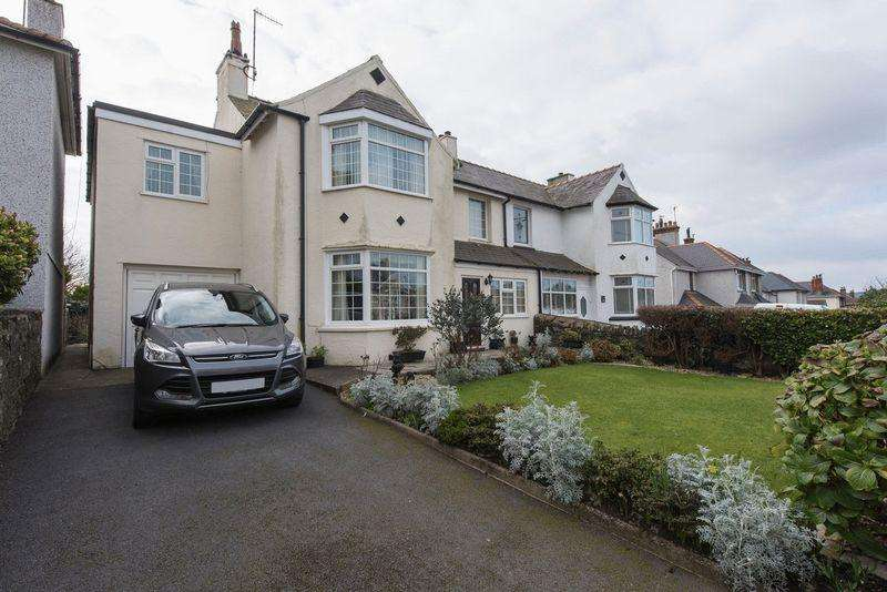 4 Bedrooms Semi Detached House for sale in London Road, Holyhead