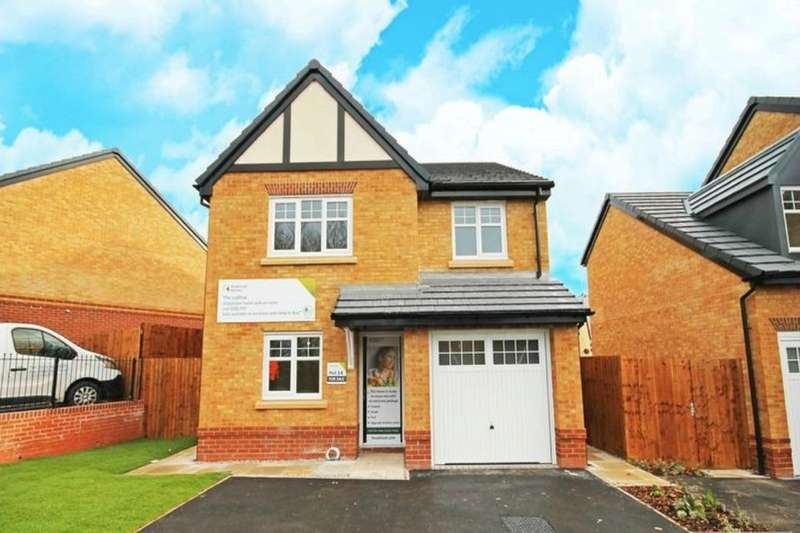 4 Bedrooms Detached House for sale in The Ludlow, Gibfield Park Avenue, Atherton, Manchester, M46