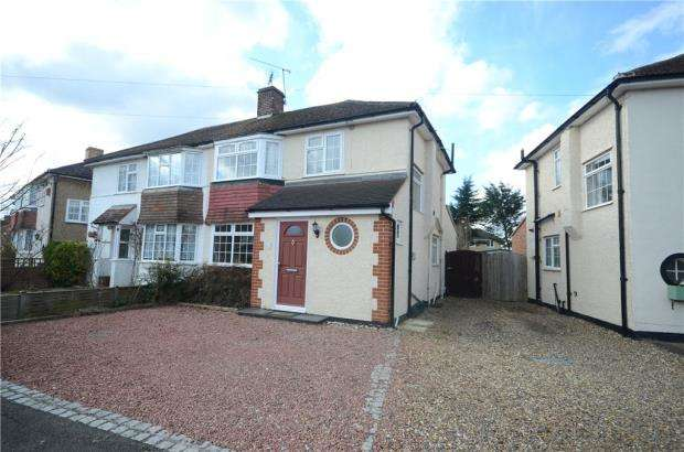 3 Bedrooms Semi Detached House for sale in Valentine Crescent, Caversham, Reading
