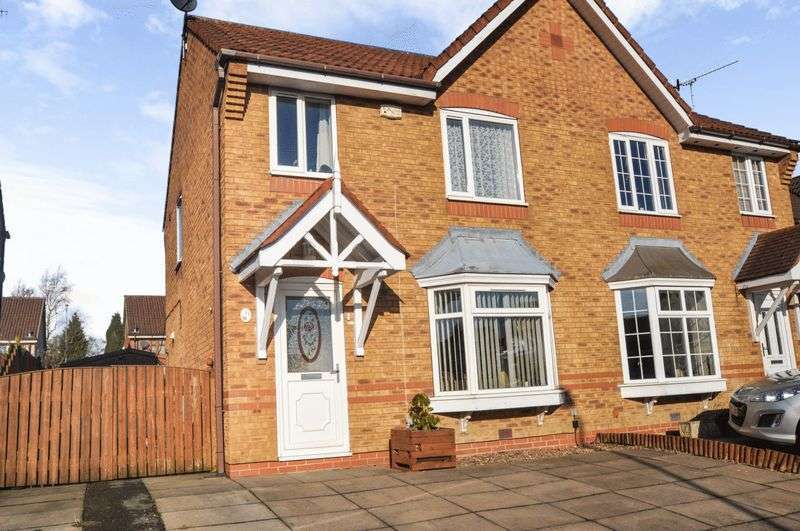3 Bedrooms Property for sale in Cormie Close, Stoke-On-Trent