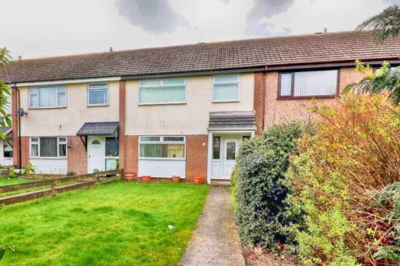 3 Bedrooms Terraced House for sale in Criccieth Court, Ellesmere Port, CH65