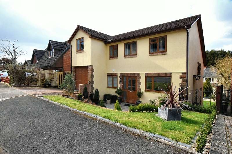 5 Bedrooms Detached House for sale in Castell Coch View, Tongwynlais, Cardiff. CF15 7LA