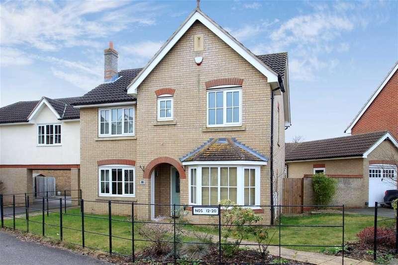 4 Bedrooms Detached House for sale in Peacock Street, Grange Farm, Kesgrave, Ipswich