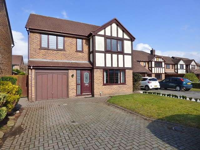 4 Bedrooms Detached House for sale in Shipton Close, Great Sankey, Warrington
