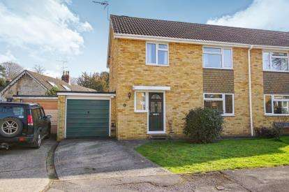 3 Bedrooms Semi Detached House for sale in Yellow Hundred Close, Dursley, Gloucestershire, .