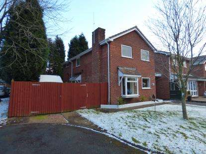 4 Bedrooms Detached House for sale in Swindale, Wilnecote, Tamworth, Staffordshire