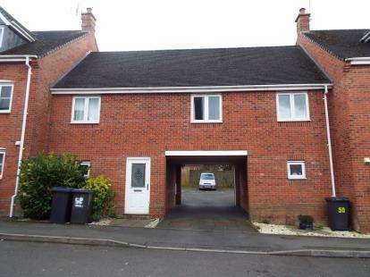 2 Bedrooms Maisonette Flat for sale in Berrywell Drive, Barwell, Leicester, Leicestershire
