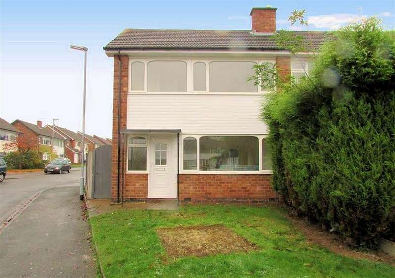 3 Bedrooms Semi Detached House for rent in Freville Close, Tamworth, Staffordshire