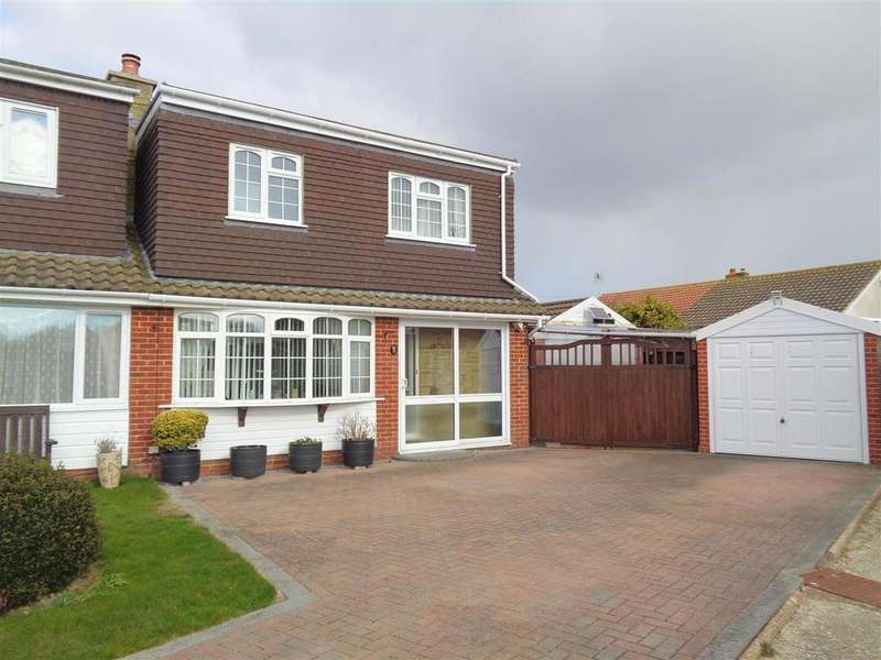 3 Bedrooms Semi Detached House for sale in The Crescent, Pagham
