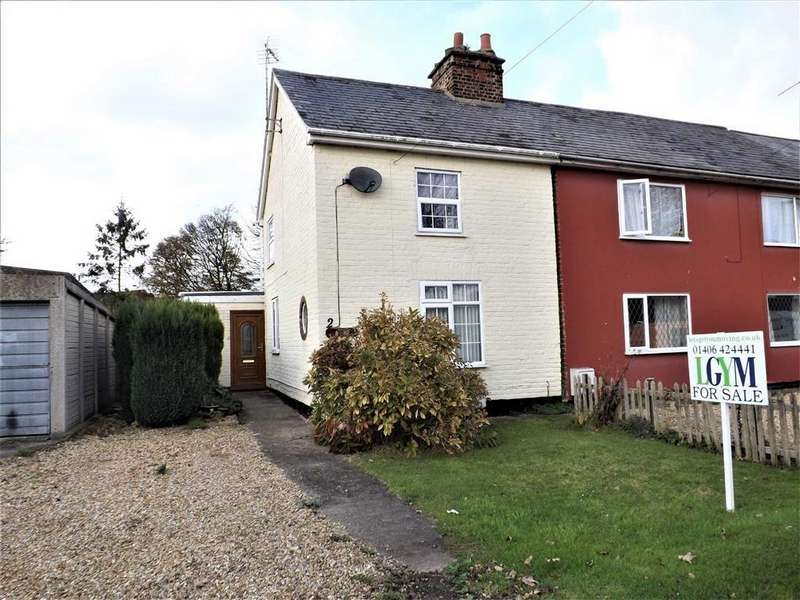 2 Bedrooms Semi Detached House for sale in Hocklesgate, Fleet Holbeach Spalding