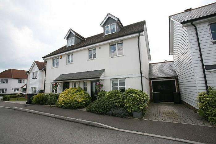 3 Bedrooms Semi Detached House for sale in WALTER MEAD CLOSE, ONGAR CM5