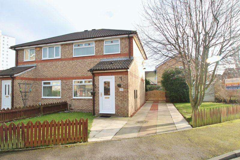 3 Bedrooms Semi Detached House for sale in Netherfields Crescent, Middlesbrough