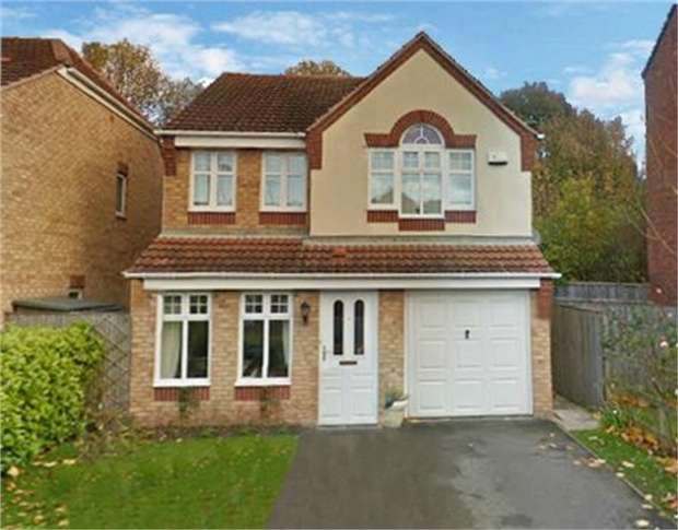 4 Bedrooms Detached House for sale in Heathfield Way, Mansfield, Nottinghamshire