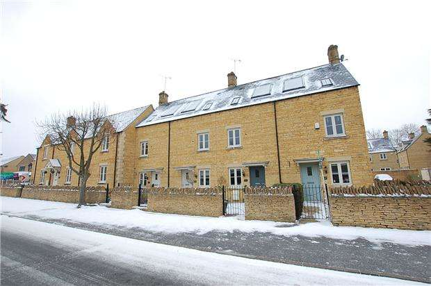 3 Bedrooms End Of Terrace House for sale in Station Road, Andoversford, CHELTENHAM, Gloucestershire, GL54
