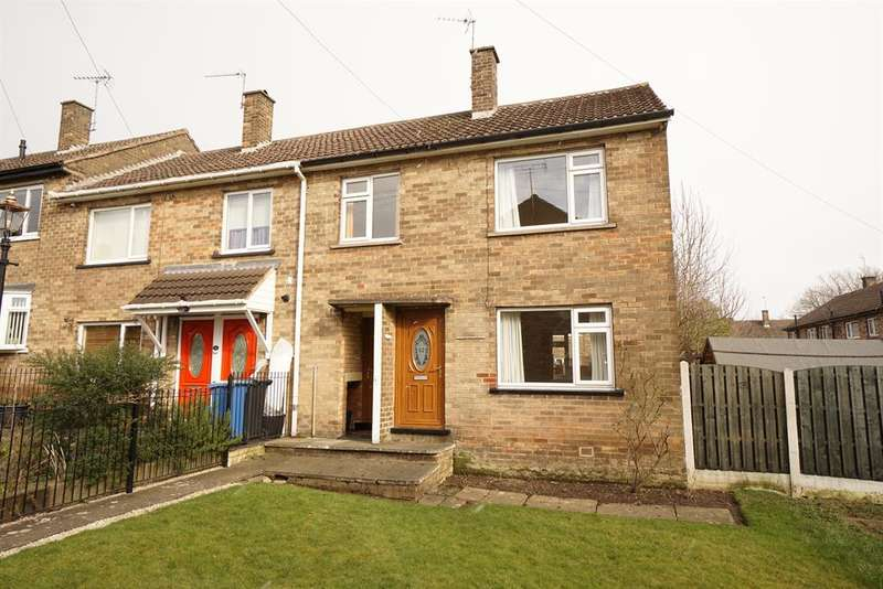 3 Bedrooms Terraced House for sale in Orpen Way, Gleadless , Sheffield , S14 1BN