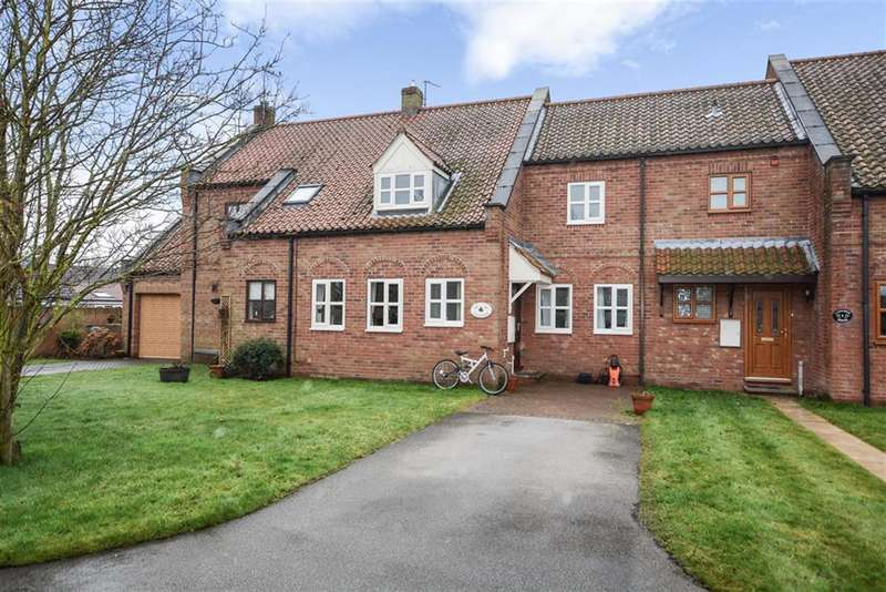 4 Bedrooms Terraced House for sale in Abbotts Gardens, Cawood, Selby, YO8 3TF