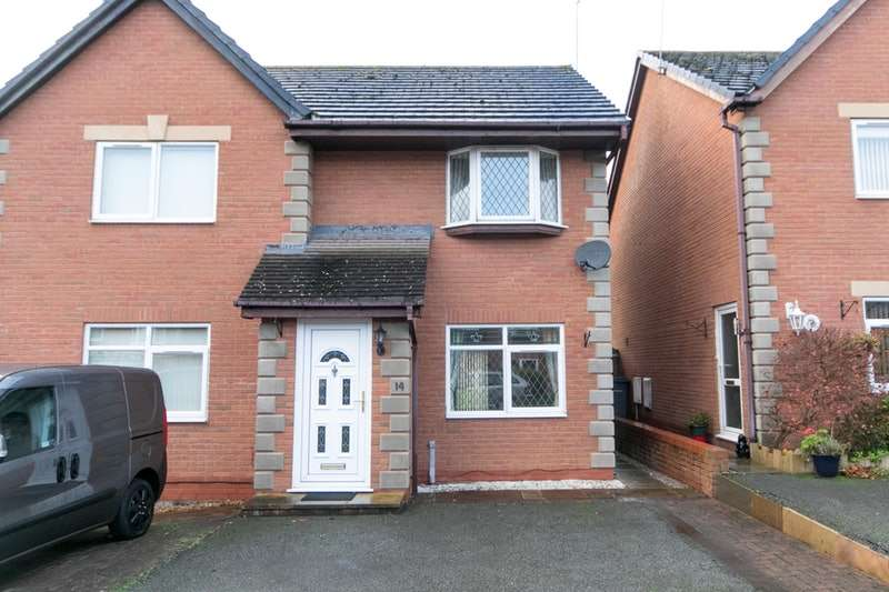 2 Bedrooms Semi Detached House for sale in Campbell Close, Llandudno, Conwy, LL30