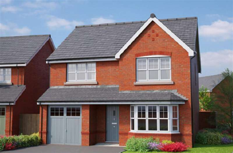4 Bedrooms Detached House for sale in The Wentworth, Erddig Place, Wrexham, LL11